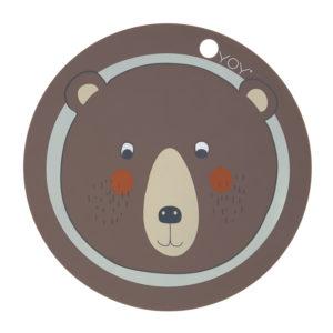 Oyoy Placemat Bär Bear Tischset Untersetzer
