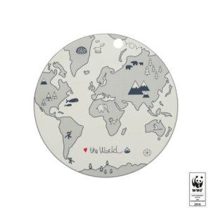 Oyoy Placemat World WWF Welt tischset untersetzer