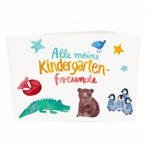 Frau Ottilie - Freundebuch Kindergarten