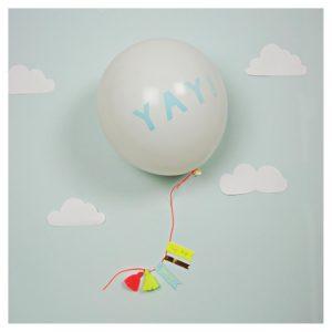 Yay Balloon Greeting Card