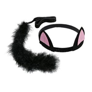 Cat Ears & Tail Dress-Up Kit