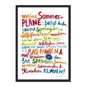 Frau Ottilie - Print Sommer