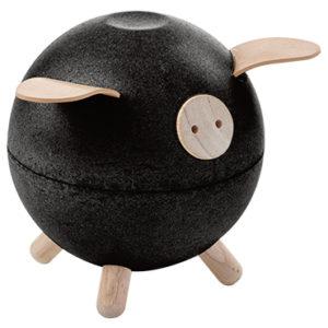 Plan Toys - Piggy Bank - Schwarz