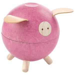 Plan Toys - Piggy Bank - Weiss