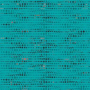 Art Gallery - Avantgarde - Fluxus Teal Baumwolle