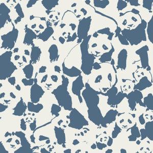 Art Gallery - Pandalicious - Pandalings Pod Night Baumwolle
