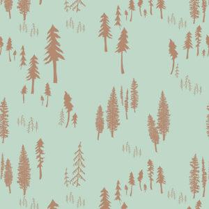 Art Gallery - Hello Bear - Timberland Dew Baumwolle