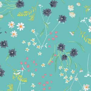 Art Gallery - Lavish - Blossom Swale Calm Baumwolle