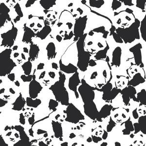 Art Gallery - Pandalicions - Pandalings Pod Assure Baumwolle