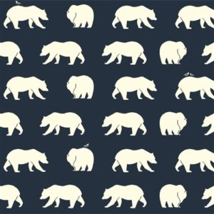 Birch Fabrics - Bear Camp - Bear Hike Dusk