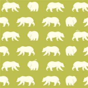 Birch Fabrics - Bear Camp - Bear Hike Grass