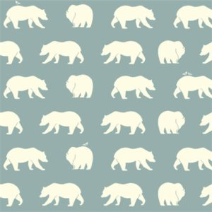 Birch Fabrics - Bear Camp - Bear Hike Mineral