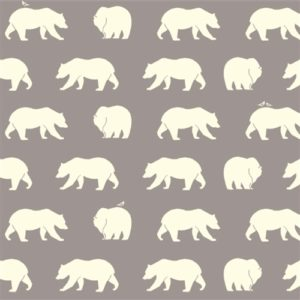 Birch Fabrics - Bear Camp - Bear Hike Shroom