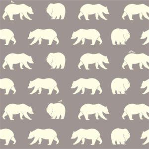 Birch Fabrics - Bear Camp - Bear Hike Shroom
