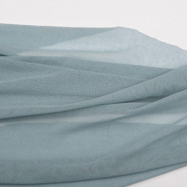 c.pauli Baumwoll-Softtüll - stone blue