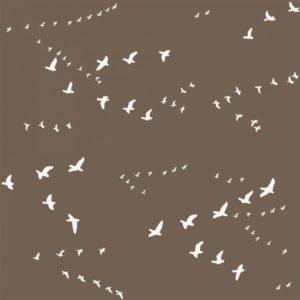 Birch Fabrics - Camp Sur 3 - Flight in Brown