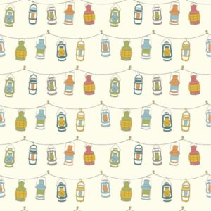 Birch Fabrics - Camp Sur 3 - Lanterns