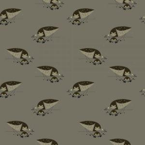 Birch Fabrics - Charley Harper - Burrowing Owl