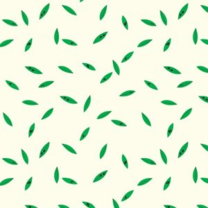 Birch Fabrics - Charley Harper - Green Leaves