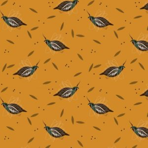 Birch Fabrics - Charley Harper - Mountain Quail