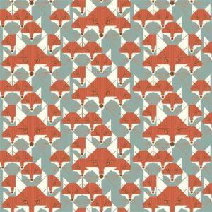 Birch Fabrics - Charley Harper Nurture - Foxsimilies
