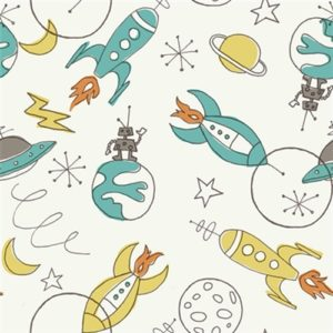 Birch Fabrics - Circa 52 - Space Cream