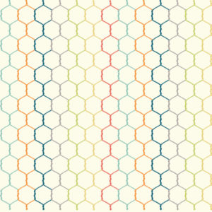 Birch Fabrics - Farm Fresh - Chicken Wire Multi