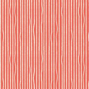 Birch Fabrics - Farm Fresh - Yarn Stripe Coral