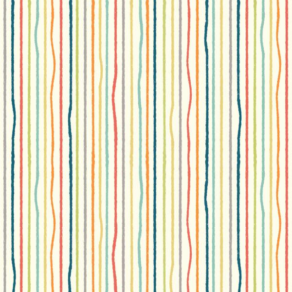 Birch Fabrics - Farm Fresh - Yarn Stripes Multi