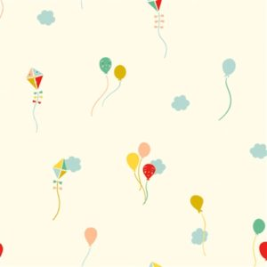 Birch Fabrics - Happy Town - Happy Sky