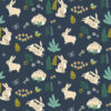 Birch Fabrics - Hidden Garden - Bunny Hop Dusk