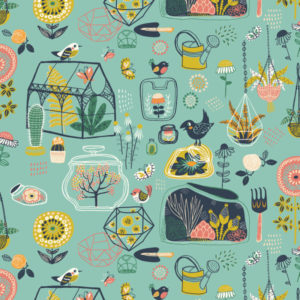 Birch Fabrics - Hidden Garden - Glass House