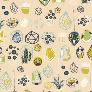 Birch Fabrics - Hidden Garden - Hanging Terrarium Shell