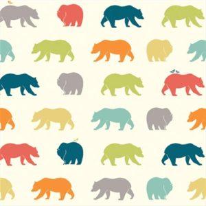 Birch Fabrics - Just For Fun - Bear Hike Multi