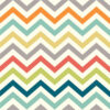 Birch Fabrics - Just For Fun - Skinny Chev Multi