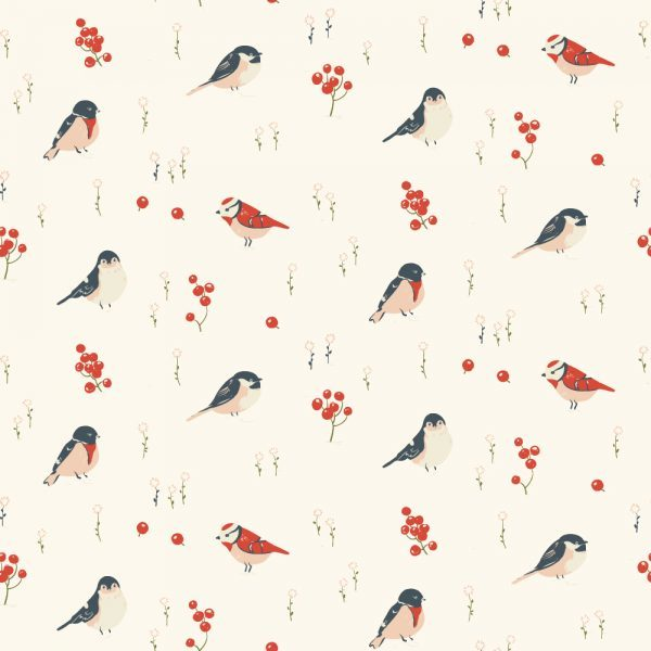 Birch Fabrics - Little - Love Birds