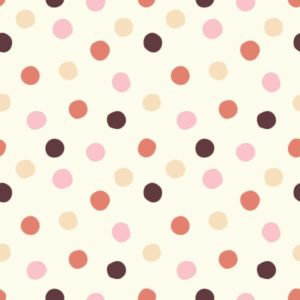 Birch Fabrics - Mods Basic 3 - Pop Dots Girl
