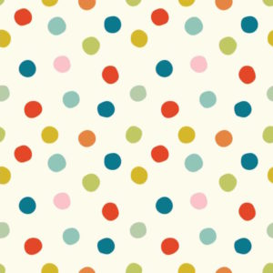 Birch Fabrics - Mods Basic 3 - Pop Dots Multi