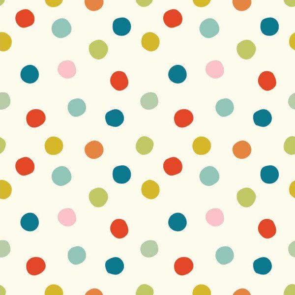 Birch Fabrics - Mods Basic 3 - Pop Dots Multi