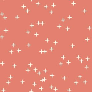 Birch Fabrics - Mods Basic 3 - Wink Coral