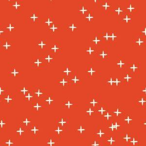 Birch Fabrics - Mods Basic 3 - Wink Tomato
