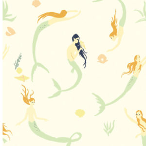 Birch Fabrics - Saltwater - mermaids day