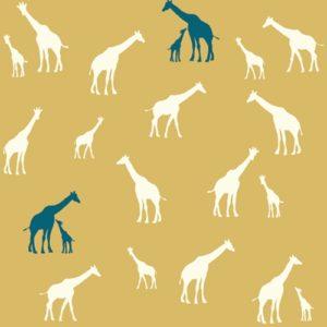 Birch Fabrics - Serengeti - Giraffe Fam Sun