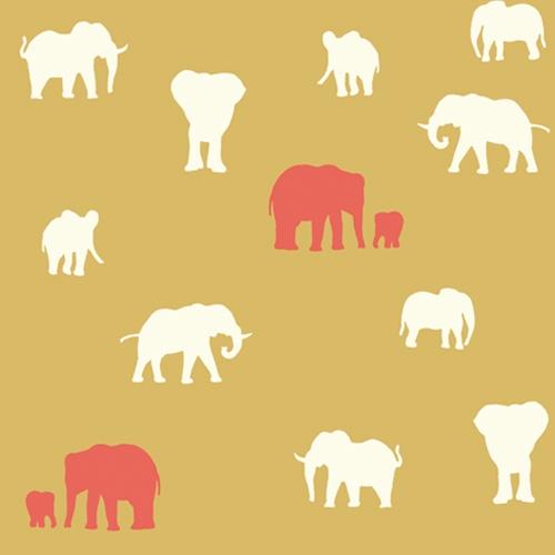 Birch Fabrics - Serengeti - The Herd Sun