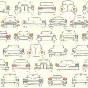 Birch Fabrics - Transpacific - Headlamps Cream