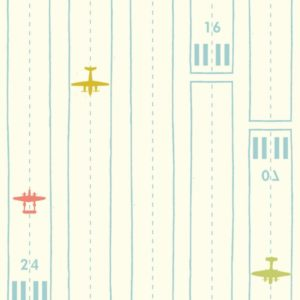 Birch Fabrics - Transpacific - Take Off