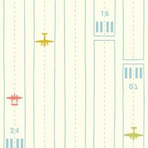 Birch Fabrics - Transpacific - Take Off