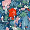 Birch Fabrics - Wonderland - Main Dusk BW
