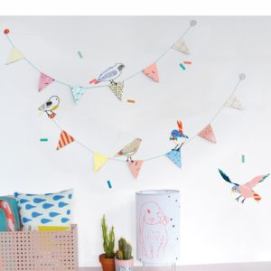 MIMI'lou Sticker- Birds on a string