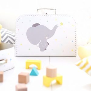 alittlelovelycompany Koffer - Elefant